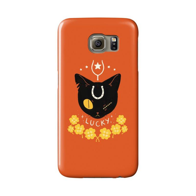 Lucky Cat Accessories Phone Case by StrangelyKatie's Store