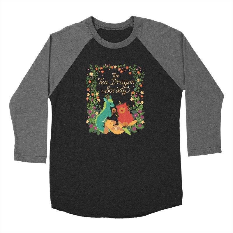 The Tea Dragon Society Men's Baseball Triblend Longsleeve T-Shirt by StrangelyKatie's Store