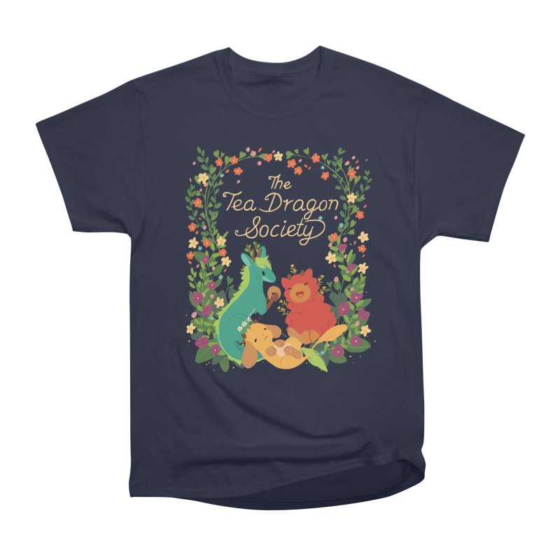 The Tea Dragon Society Women's Heavyweight Unisex T-Shirt by StrangelyKatie's Store