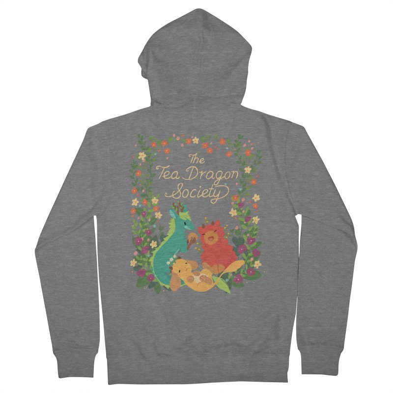 The Tea Dragon Society Women's Zip-Up Hoody by StrangelyKatie's Store