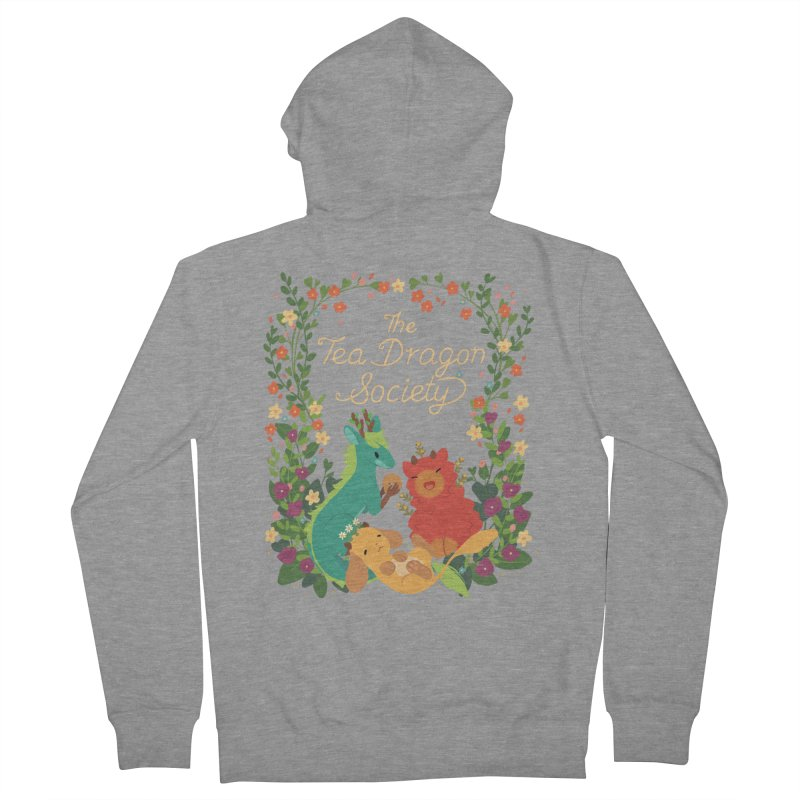 The Tea Dragon Society Women's French Terry Zip-Up Hoody by StrangelyKatie's Store