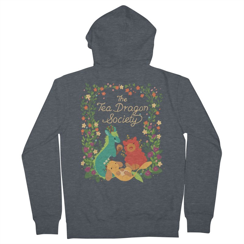 The Tea Dragon Society Men's Zip-Up Hoody by StrangelyKatie's Store