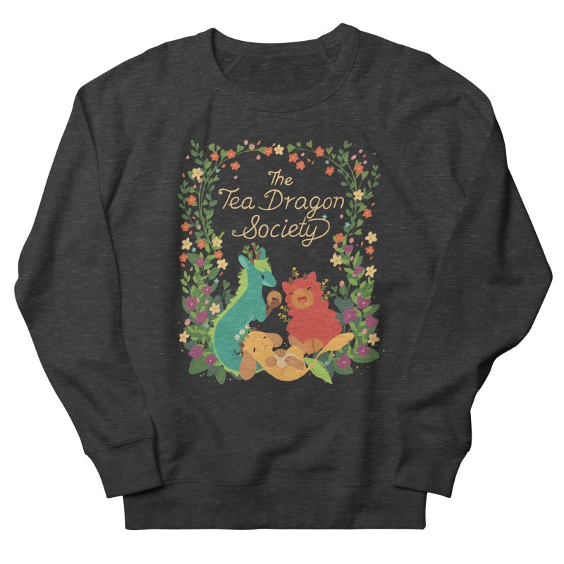 The Tea Dragon Society Men's French Terry Sweatshirt by StrangelyKatie's Store
