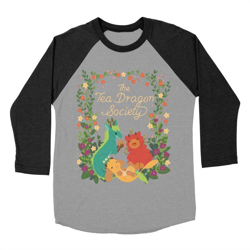 The Tea Dragon Society Women's Baseball Triblend T-Shirt by StrangelyKatie's Store