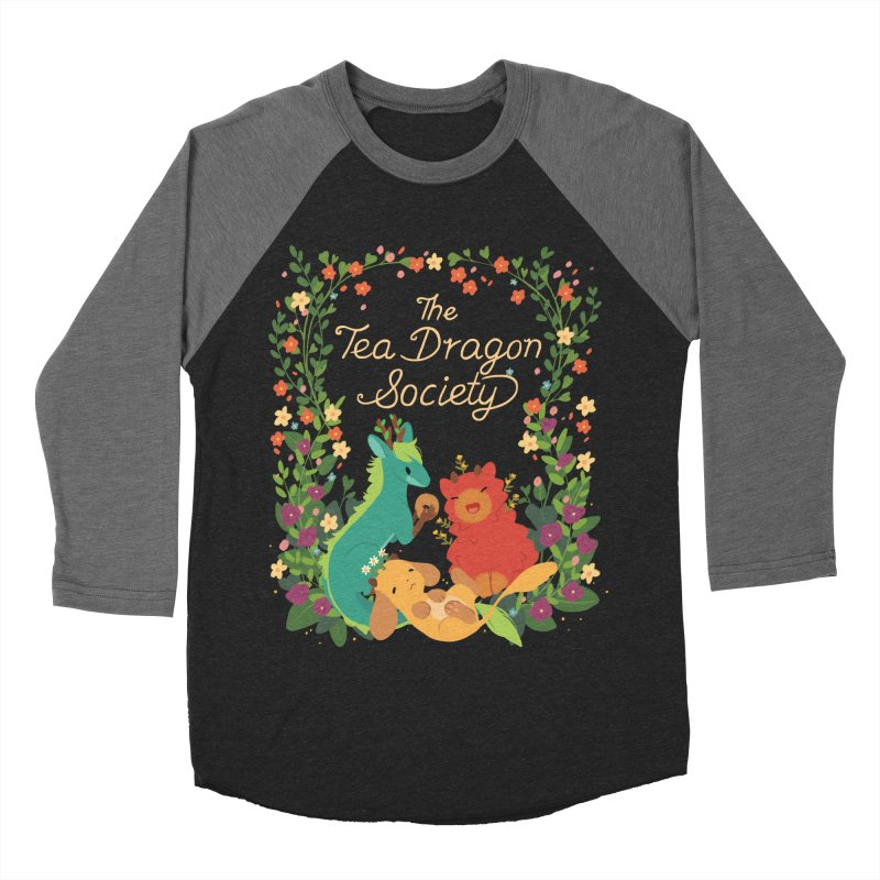 The Tea Dragon Society Men's Baseball Triblend Longsleeve T-Shirt by StrangelyKatie's Store