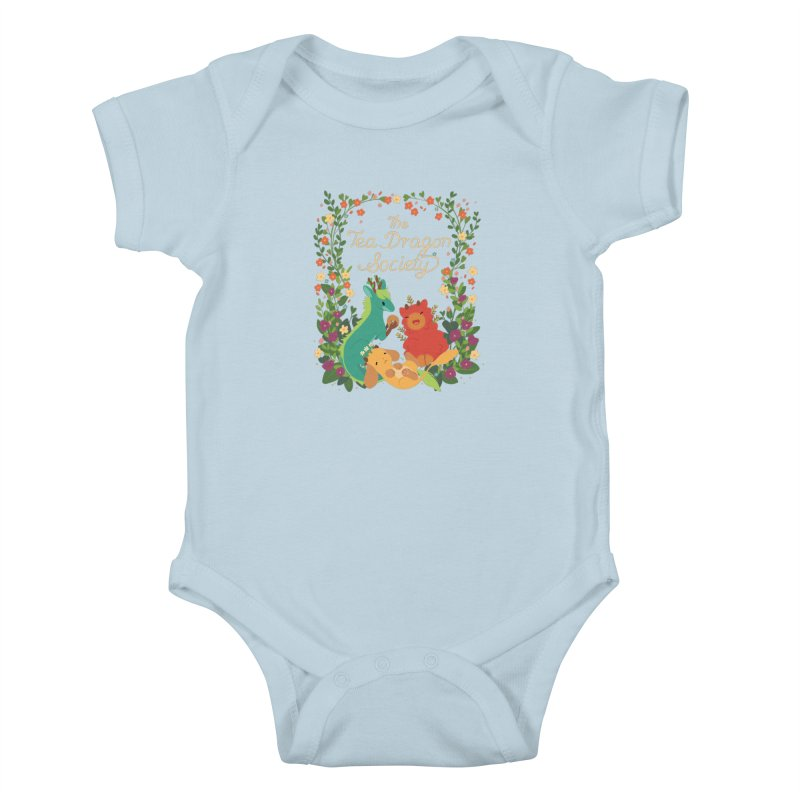 The Tea Dragon Society Kids Baby Bodysuit by StrangelyKatie's Store