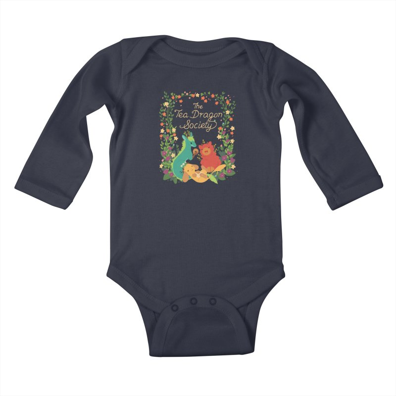 The Tea Dragon Society Kids Baby Longsleeve Bodysuit by StrangelyKatie's Store
