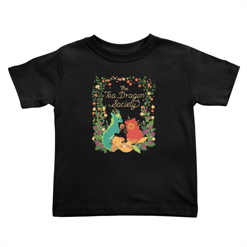 The Tea Dragon Society Kids Toddler T-Shirt by StrangelyKatie's Store