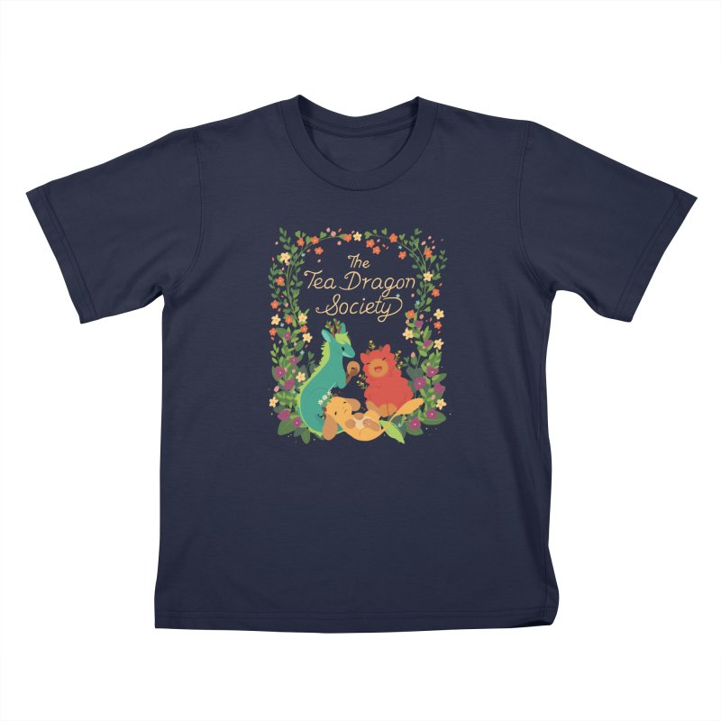 The Tea Dragon Society Kids T-Shirt by StrangelyKatie's Store
