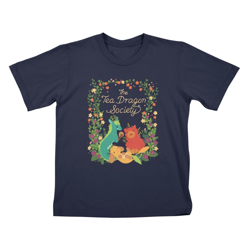 The Tea Dragon Society Kids T-Shirt by StrangelyKatie's Store