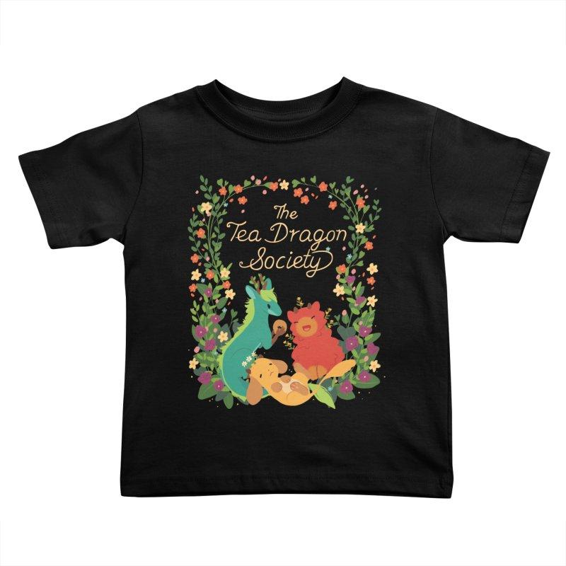 The Tea Dragon Society Kids Toddler T-Shirt by StrangelyKatie's Store