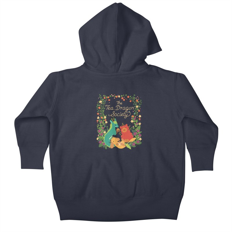 The Tea Dragon Society Kids Baby Zip-Up Hoody by StrangelyKatie's Store