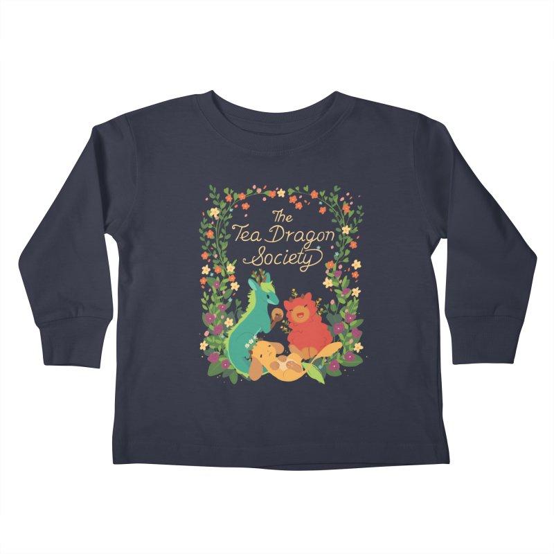 The Tea Dragon Society Kids Toddler Longsleeve T-Shirt by StrangelyKatie's Store