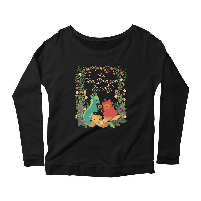 The Tea Dragon Society Women's Longsleeve Scoopneck  by StrangelyKatie's Store
