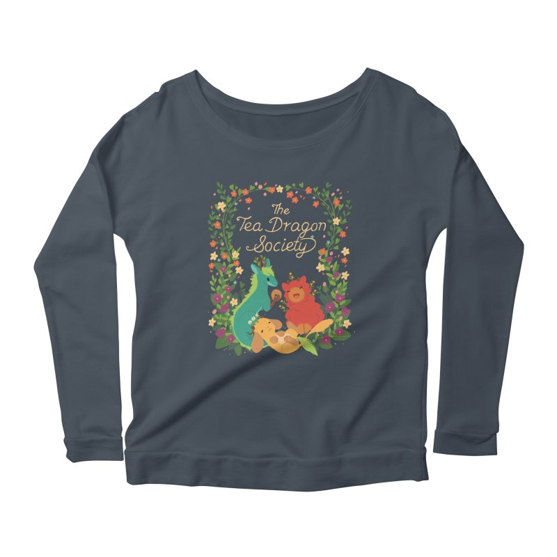 The Tea Dragon Society Women's Longsleeve T-Shirt by StrangelyKatie's Store