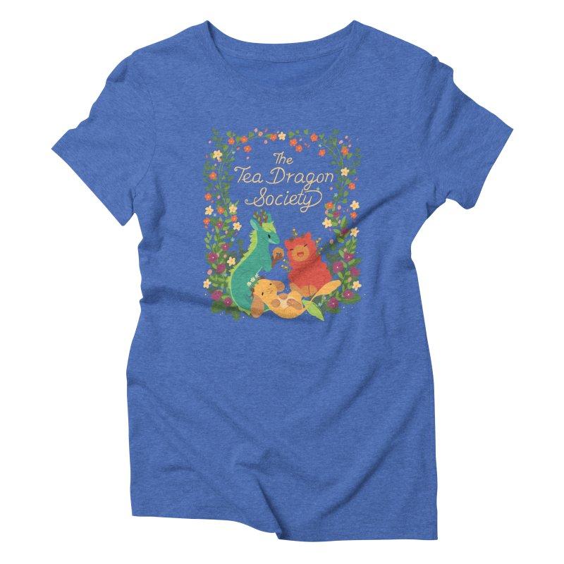 The Tea Dragon Society Women's Triblend T-Shirt by StrangelyKatie's Store