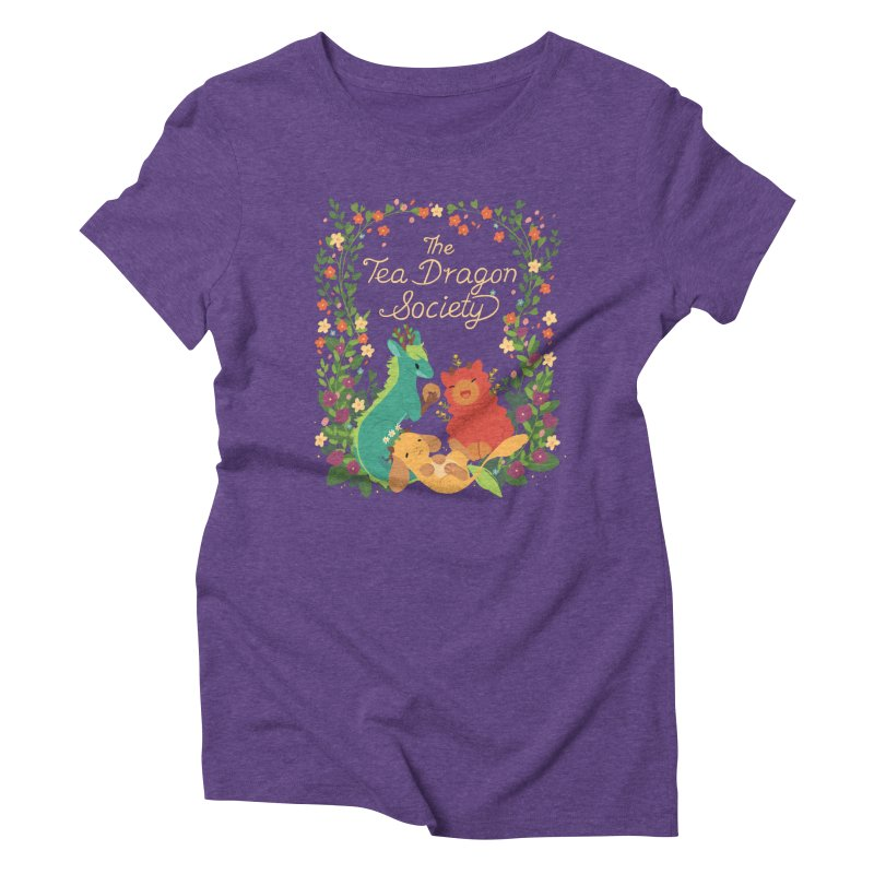 The Tea Dragon Society Women's Triblend T-Shirt by StrangelyKatie's Store