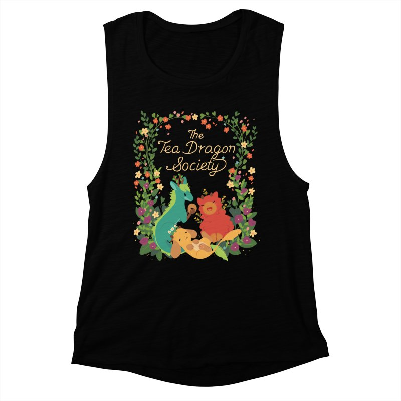 The Tea Dragon Society Women's Muscle Tank by StrangelyKatie's Store