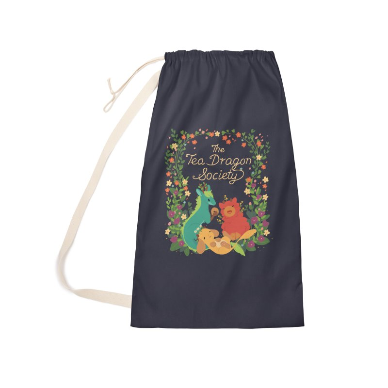 The Tea Dragon Society Accessories Laundry Bag Bag by StrangelyKatie's Store