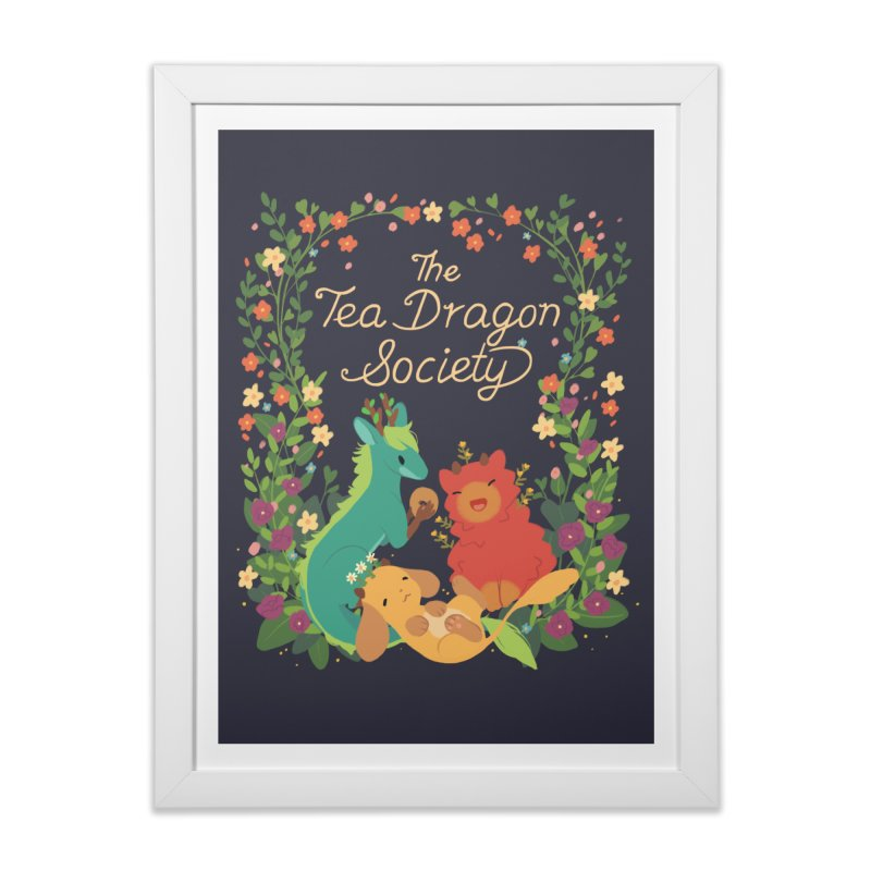 The Tea Dragon Society Home Framed Fine Art Print by StrangelyKatie's Store