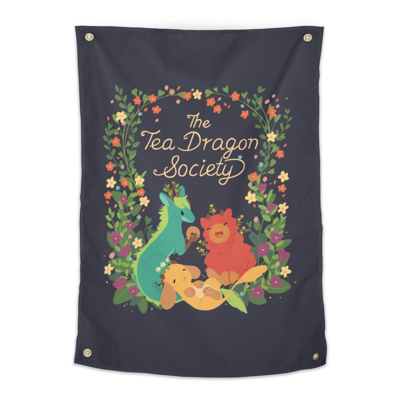 The Tea Dragon Society Home Tapestry by StrangelyKatie's Store