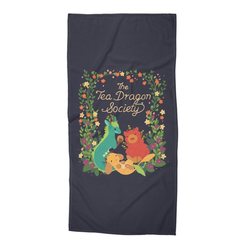 The Tea Dragon Society Accessories Beach Towel by StrangelyKatie's Store