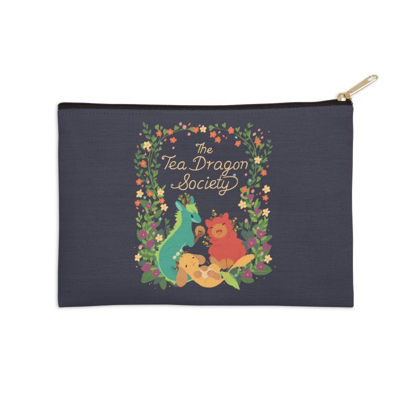 The Tea Dragon Society Accessories Zip Pouch by StrangelyKatie's Store