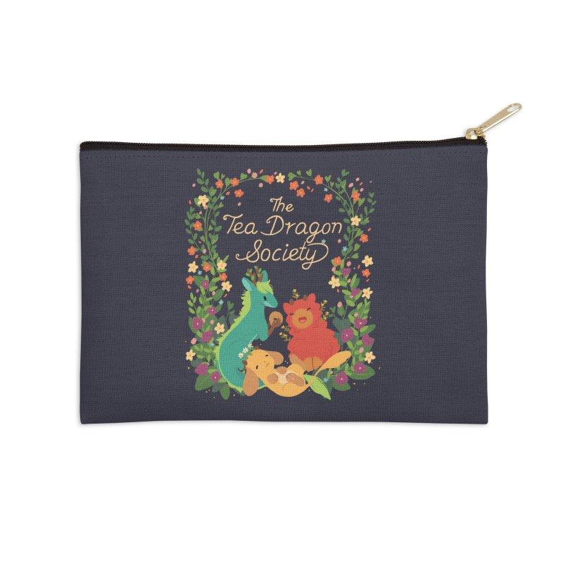 The Tea Dragon Society Accessories Zip Pouch by StrangelyKatie's Store