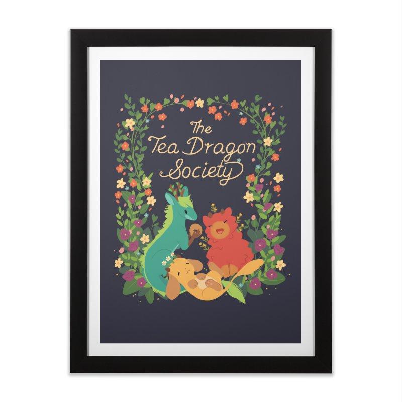 The Tea Dragon Society Home Framed Fine Art Print by StrangelyKatie's Store