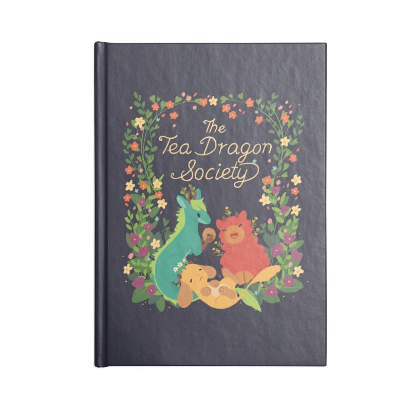 The Tea Dragon Society Accessories Blank Journal Notebook by StrangelyKatie's Store