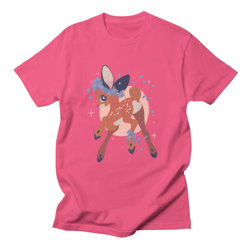 Heartbutt Deer Men's T-Shirt by StrangelyKatie's Store
