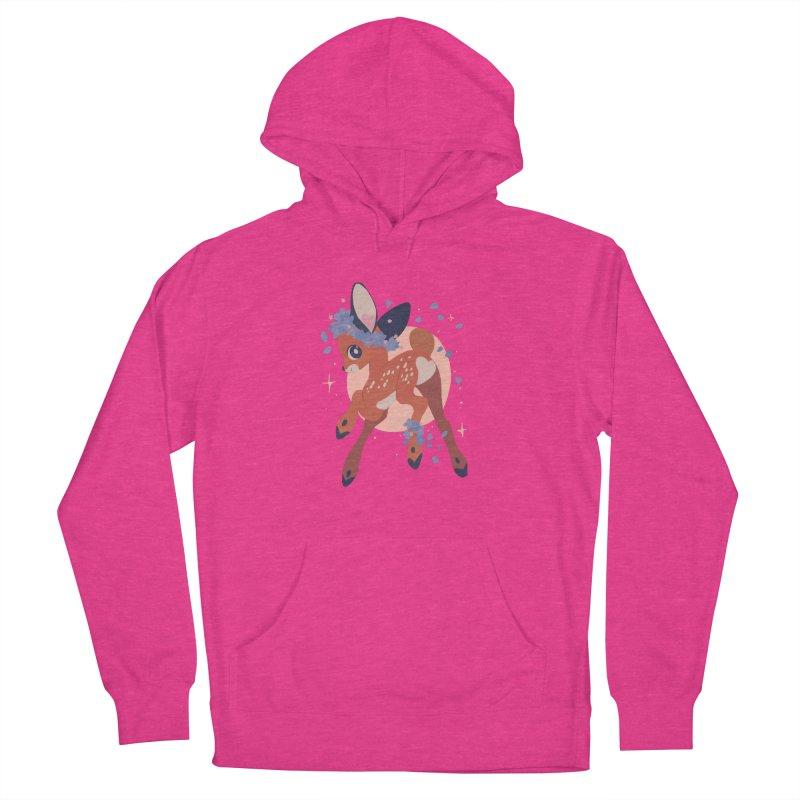 Heartbutt Deer Women's Pullover Hoody by StrangelyKatie's Store