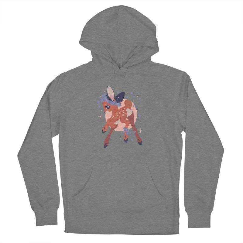 Heartbutt Deer Men's Pullover Hoody by StrangelyKatie's Store