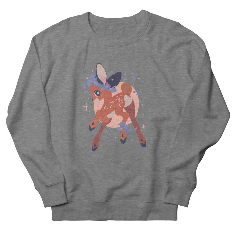 Heartbutt Deer Men's Sweatshirt by StrangelyKatie's Store