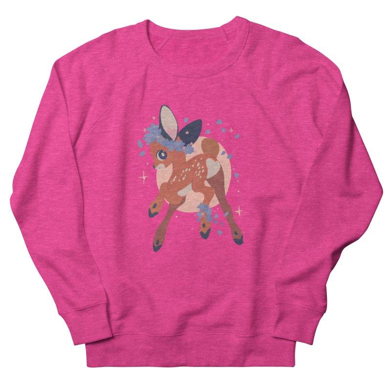 Heartbutt Deer Men's Sweatshirt by StrangelyKatie's Store