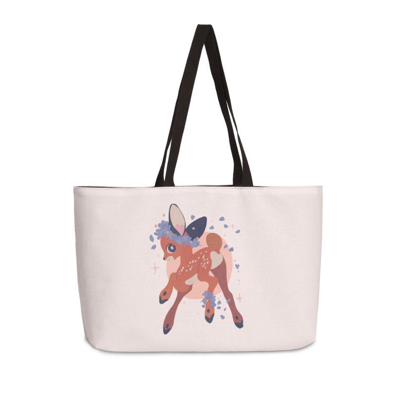 Heartbutt Deer Accessories Weekender Bag Bag by StrangelyKatie's Store