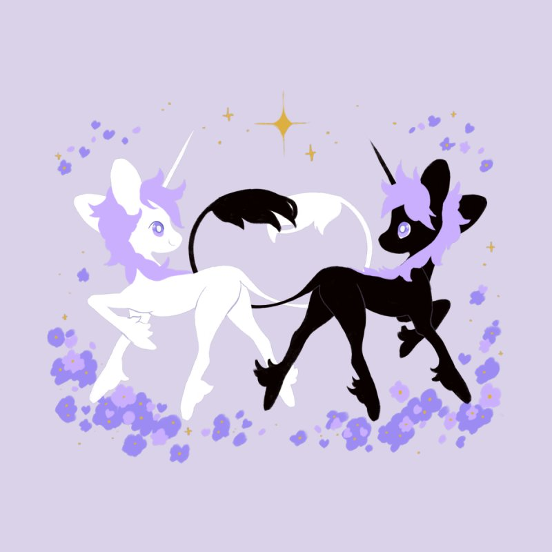 Unicorn Pair Men's Tank by StrangelyKatie's Store