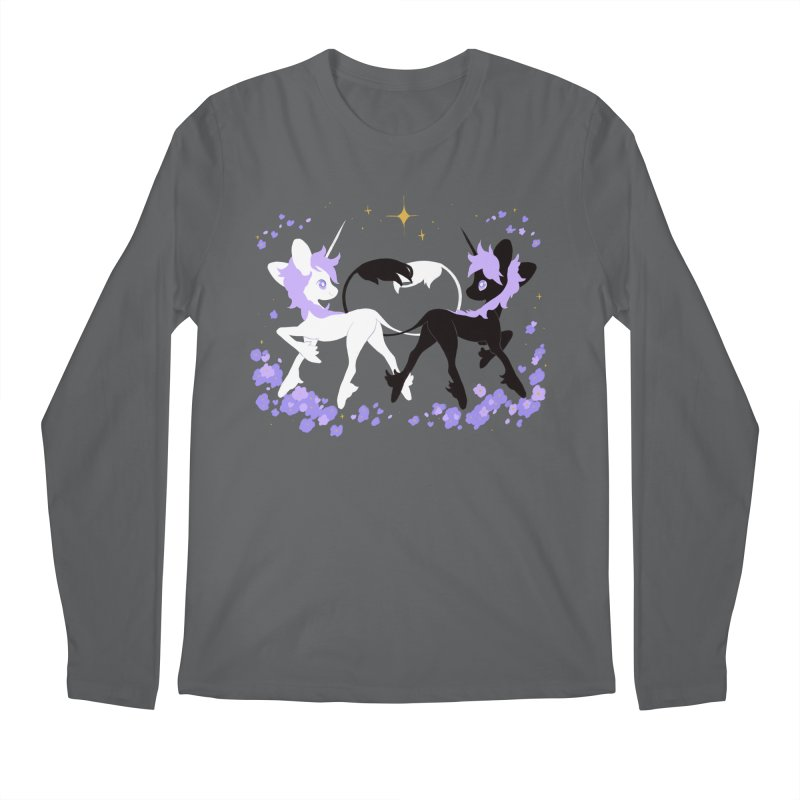 Unicorn Pair Men's Longsleeve T-Shirt by StrangelyKatie's Store