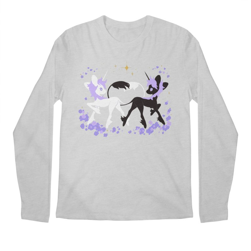 Unicorn Pair Men's Regular Longsleeve T-Shirt by StrangelyKatie's Store