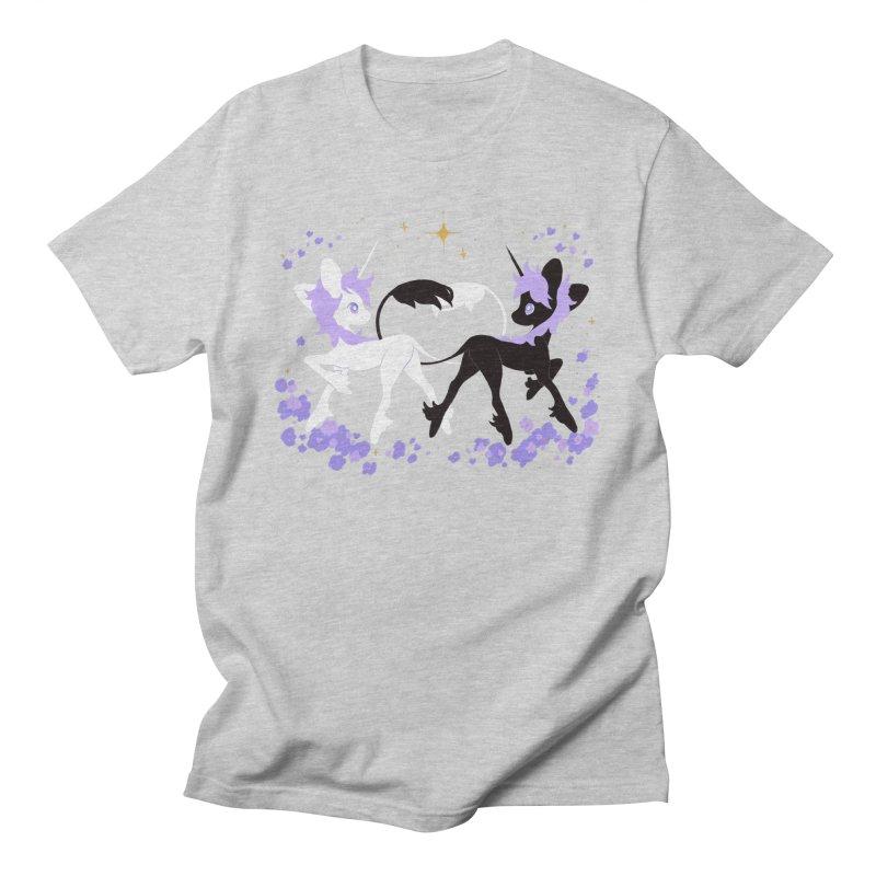 Unicorn Pair Men's T-Shirt by StrangelyKatie's Store