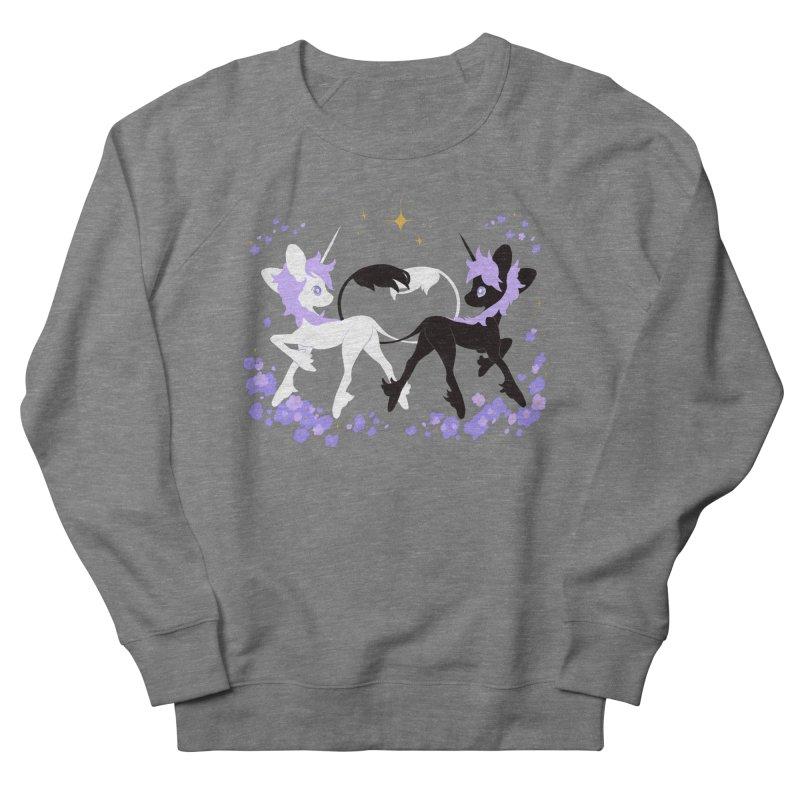 Unicorn Pair Men's Sweatshirt by StrangelyKatie's Store