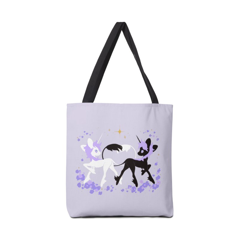 Unicorn Pair Accessories Tote Bag Bag by StrangelyKatie's Store