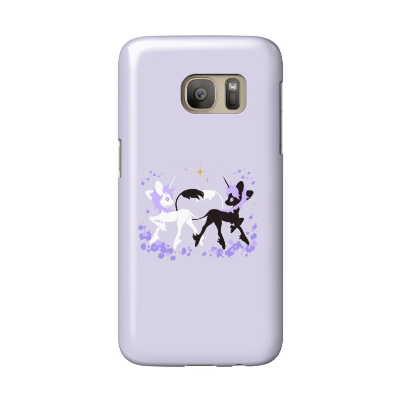 Unicorn Pair Accessories Phone Case by StrangelyKatie's Store