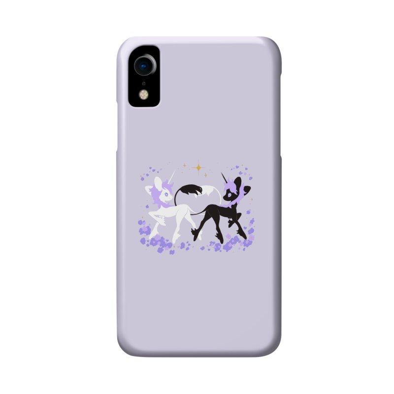 Unicorn Pair Accessories Phone Case by StrangelyKatie's Store
