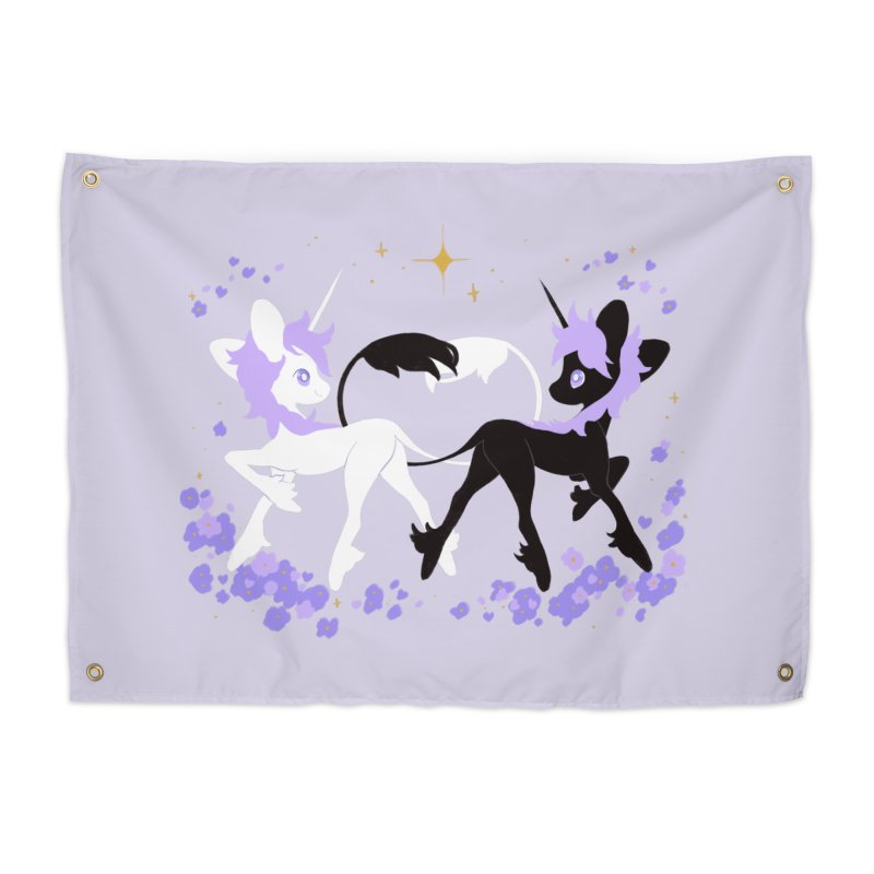 Unicorn Pair Home Tapestry by StrangelyKatie's Store