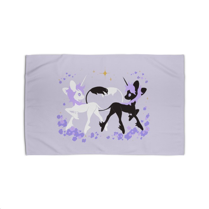 Unicorn Pair Home Rug by StrangelyKatie's Store