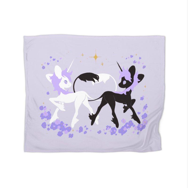 Unicorn Pair Home Blanket by StrangelyKatie's Store