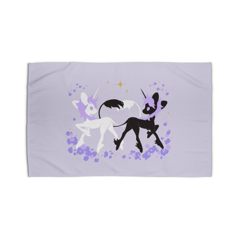 Unicorn Pair Home Rug by StrangelyKatie's Store