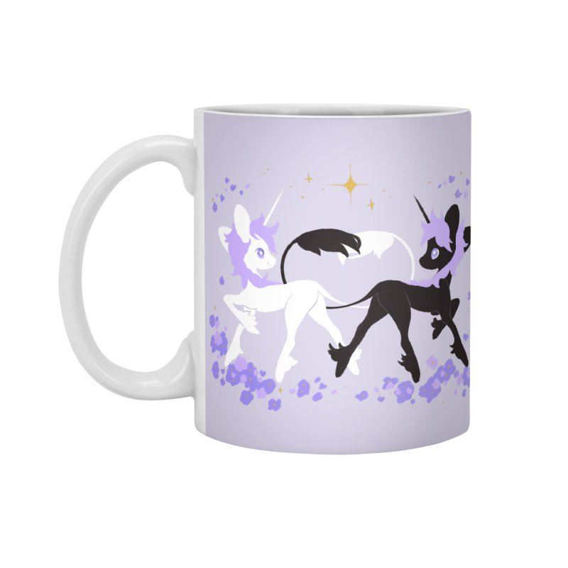 Unicorn Pair Accessories Standard Mug by StrangelyKatie's Store