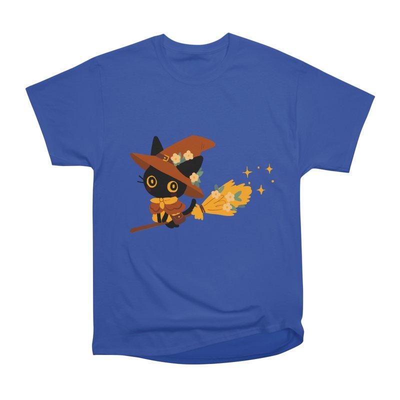 Cat Witch Women's T-Shirt by StrangelyKatie's Store
